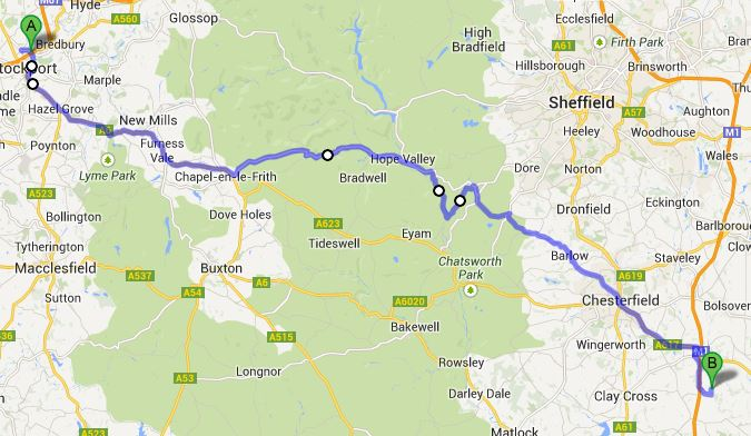 Tesco Extra to Hardwick Hall - Google Maps - Mozilla Firefox_2013-08-19_12-47-21